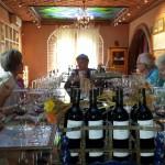 Vinprovning på vingård